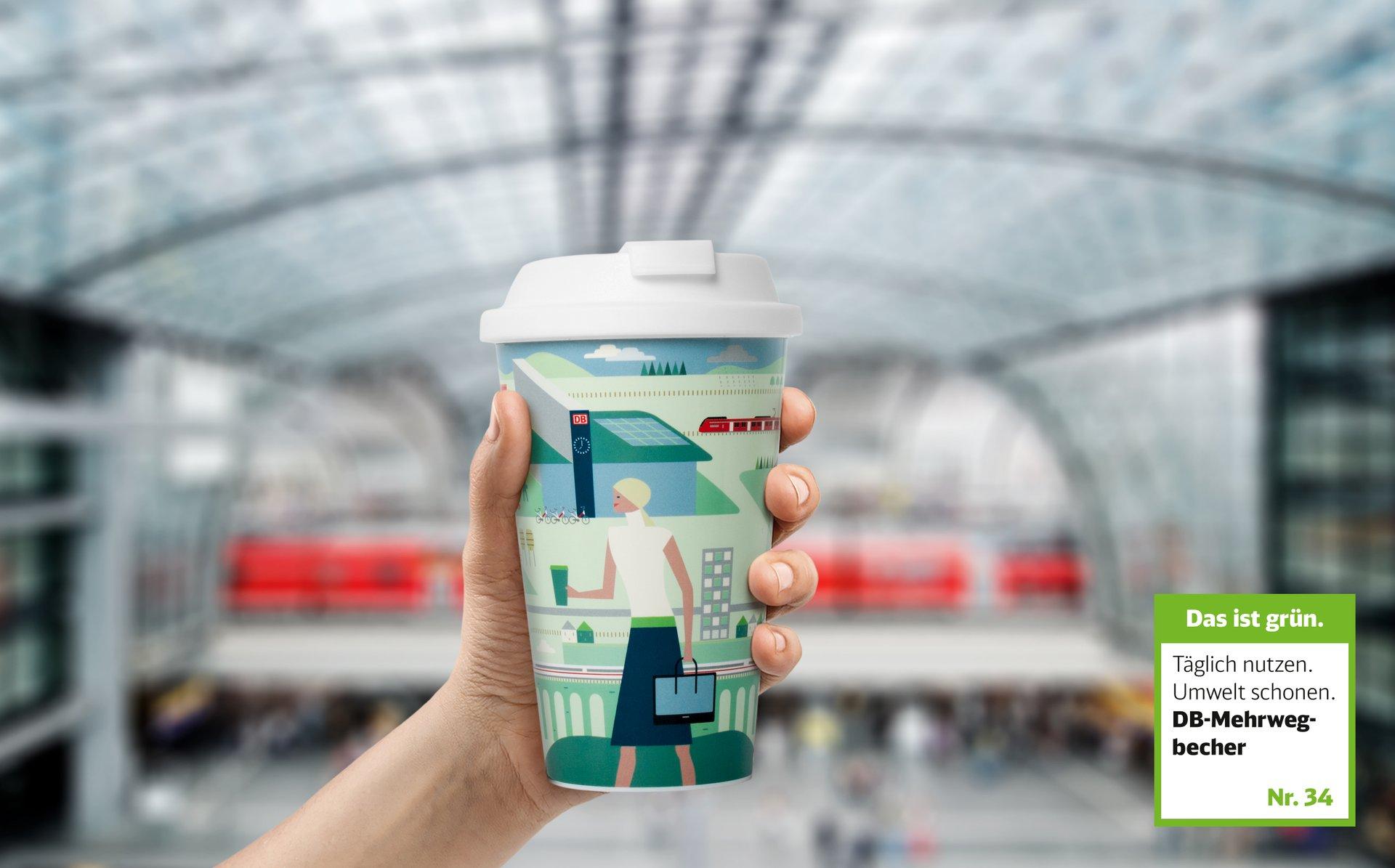 Scholz Volkmer Deutsche Bahn Kampagne Das Ist Grün